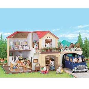 Sylvanian families maple manor with carport rrp £74.99 £37.49 @ amazon