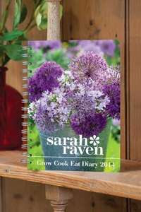 Sarah Raven 2014 Gardening Diary plus packet of seeds £5.93 delivered @ Sarah Raven