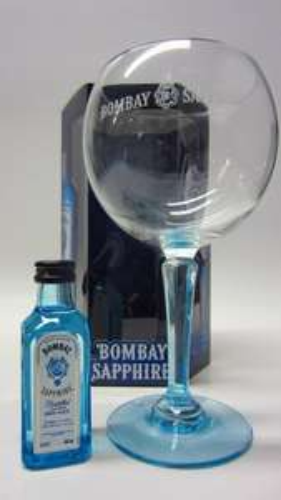 Bombay Sapphire Miniature & Glass Gift Set £5.99 @ Sainsbury's