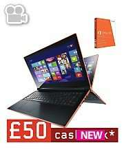 20% cashback on selected laptops @ Very.co.uk