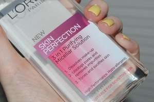 L'Oreal Paris Skin Perfection 3in1 Purifying Micellar Solution - £2 @ Asda