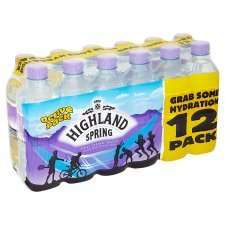12 x 500ml bottles Highland Spring water £2 @Morrisons