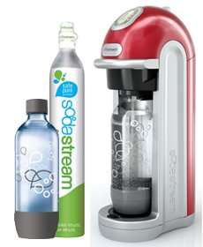 Fizz Red SodaStream Drinksmaker 50% OFF TODAY ONLY £49.99 @ SodaStream