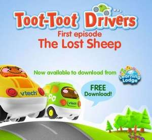 VTech Innotab Toot Toot Lost Sheep Video free from Learning Lodge