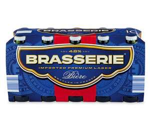 Brasserie Premium French Lager £3.25 per pack - 10 x 250ml £3.25 @ Aldi