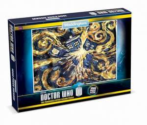 Waddingtons Doctor Who Jigsaw Puzzle (1000 Pieces)  £5.48 @ Amazon
