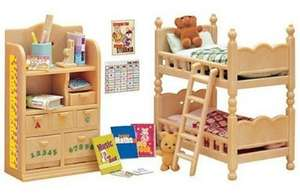 Sylvanian Families Children's Bedroom Set  £8.14 @ Amazon