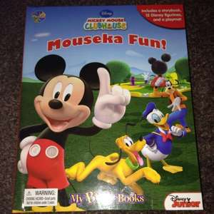 Disney mickey mouse clubhouse my busy book £5.00 @ Asda instore
