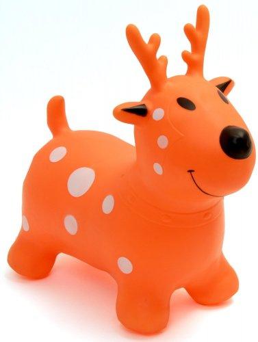 Happy Hopperz Orange Deer Bouncer (orange) £12.99 @ Amazon