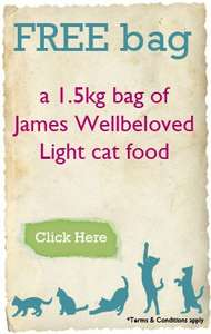 Free Bag James Wellbeloved Pet Food