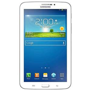 "Samsung Galaxy Tab 3 7.0 Tablet, Marvell PXA, Android, 7"", Wi-Fi, 8GB, Black, White £99.00 @ John lewis( 2 Years Guarantee Included)"