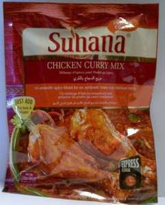 Suhana Curry Mix 69P @B&M Stores (nationally)