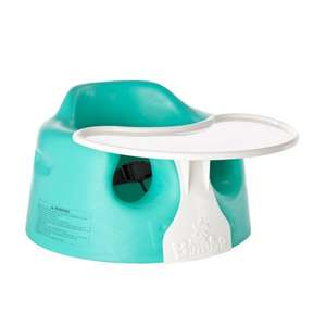 Bumbo Floor Seat and Play Tray Combo Pack (Aqua) @Amazon - £26