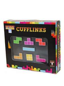 Tetris cufflink set £4 (was £20) at Very