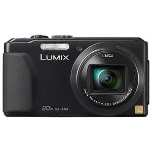 John lewis panasonic TZ40 (black version) £197 + £30 cashback offer = £167.00