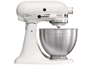 White Kitchenaid Classic Mixer £279 free delivery before Xmas from Harts of Stur