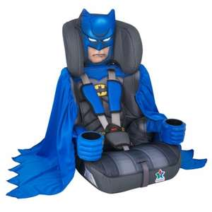 Batman Group 1-2-3 Child Car Seat at HALFORDS £49.99
