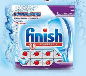 FREE sample of the New Finish Power & Pure Quantum Dishwasher Tablet