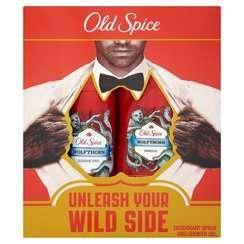 Old Spice Wolfthorn Deodorant Spray and Shower Gel Set Half Price @ Superdrug - £3