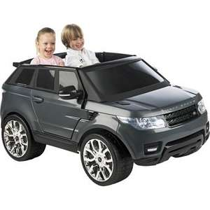 Range Rover Sport Twin Seat 12V - Grey £299.99@Toys R Us