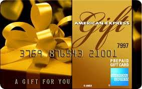 £20 Amex Pre Pay (gift) Card with free postage and no montly fee