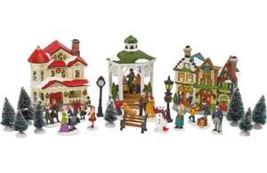 Big reductions on Christmas villages from £3 at homebase
