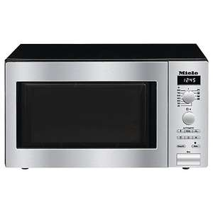 Miele M6012 ContourLine Microwave with Grill, Stainless Steel £579 @JohnLewis