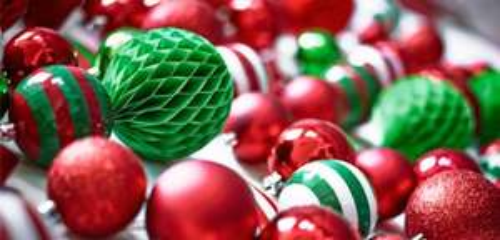 Christmas decorations half price at asda