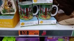 Gruffalo Mug + chocolate chip cookies - £3 instore @ Sainsburys