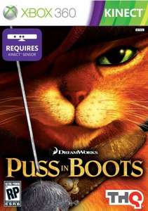 Puss in Boots (Kinect Xbox 360) + 800 Xbox Live points - 2 year guarantee - £19.95 @ John Lewis