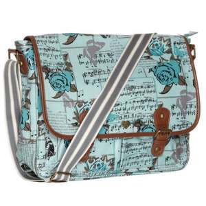 Yumi Rose and Butterfly (in blue or beige) or Yumi Camera printed satchel was £45.00 now £12.00 3 designs to choose from online @ debenhams free click and collect plus quidco