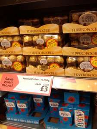 Ferrero Rocher 16pk £3 INSTORE @ Morrisons