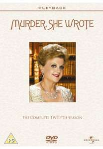 Murder She Wrote Seasons 1-12 DVD Boxsets £7.00 EACH @ Amazon