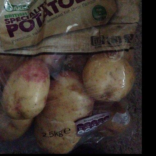 Speciality Potato 2.5kg  £1.09 @ LIDL