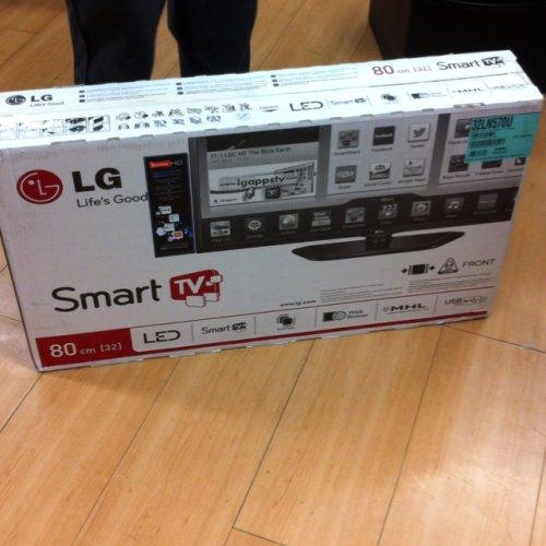LG 32 led inch smart tv @ Tesco £80