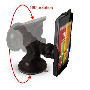 Moto G dedicated car mount with charger £8.95 on Amazon sold by iBox Ltd.