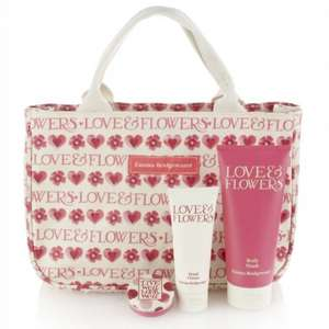 Emma bridge water love and flowers handbag half price at m&s  was £39.50 now £19.75