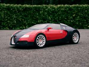 Bugatti Veyron Free Card Model Download