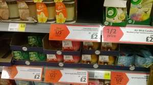 Glade Scented Candles - Better than half price - Was: £5 Now: £2 @ Morrisons