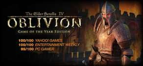 The Elder Scrolls IV: Oblivion Game of the Year Edition £3.74 @Steam (Deluxe £4.99)