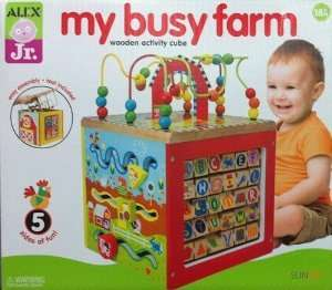 Alex Jr, my busy farm wooden activity cube £23.96 @ Costco Haydock