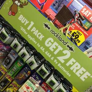 AA batteries buy 1 get 2 free on 4 packs @ Motor World