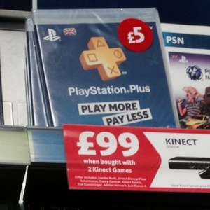 PlayStation Plus 90 day subscription instore at Morrisons for £5 [Exeter]