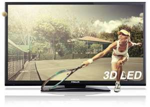 "42"" FULL-HD 1080p 3D LED TV+8x 3D GLASSES £319.99 @Finlux Direct  (2D-3D Upscaling, Freeview, PVR)"