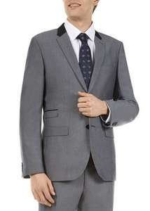 Full Grey Suit Jacket + Trousers for £12.50 @ Matalan