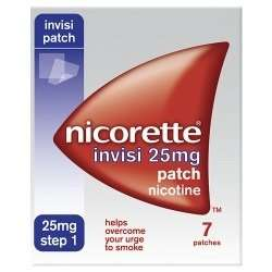 Nicorette Invisi 25mg /15mg/10mg Patch Nicotine 7 Patches only £6.00! was £15.99 Lloyds pharmacy!!