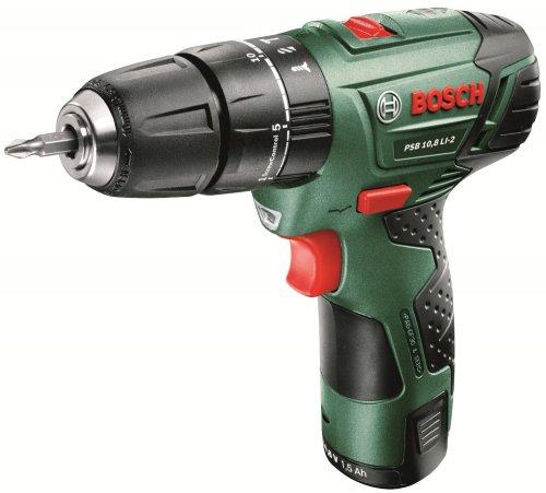 Bosch PSB 10.8 LI-2 Cordless Hammer Drill £39.98 @ B&Q