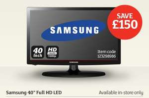Great Television offers at Sainsbury's