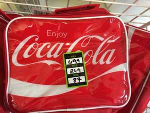 Coca-Cola lunch bag 87p at Dunelm