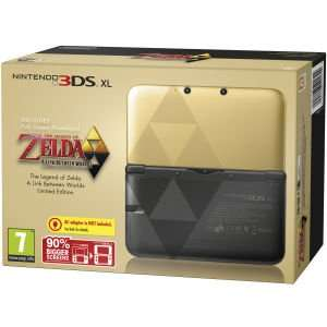 Nintendo 3DS XL Console: Bundle - Limited Edition (Includes The Legend of Zelda: A Link Between Worlds) 179.99 @ Zavvi